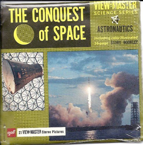 The Conquest of Space 3d View-Master 3 Reel Packet