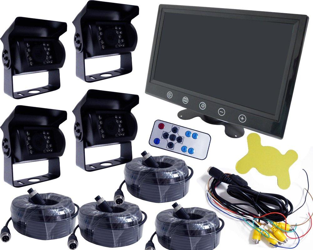 Boomin' Blue 9インチ 液晶モニター 搭載 カメラセット 12V/24V兼用 B01N04CYQD