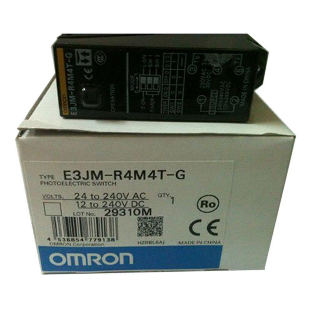 Omron E3JM-R4M4T-US Retro Reflective Switch w// Timer 24-240VAC 12-240VDC
