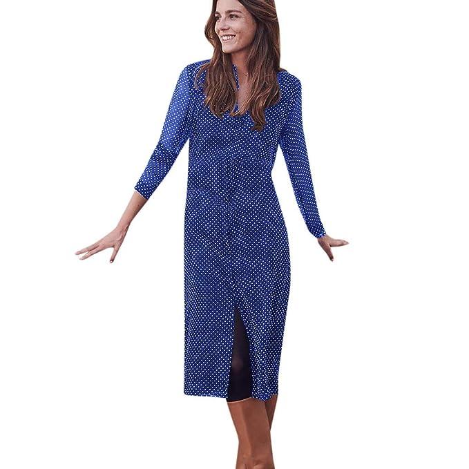 3a405464c7dd Btruely Vestido Mujer Verano Vestido de Fiesta Falda Boho de Gasa ...
