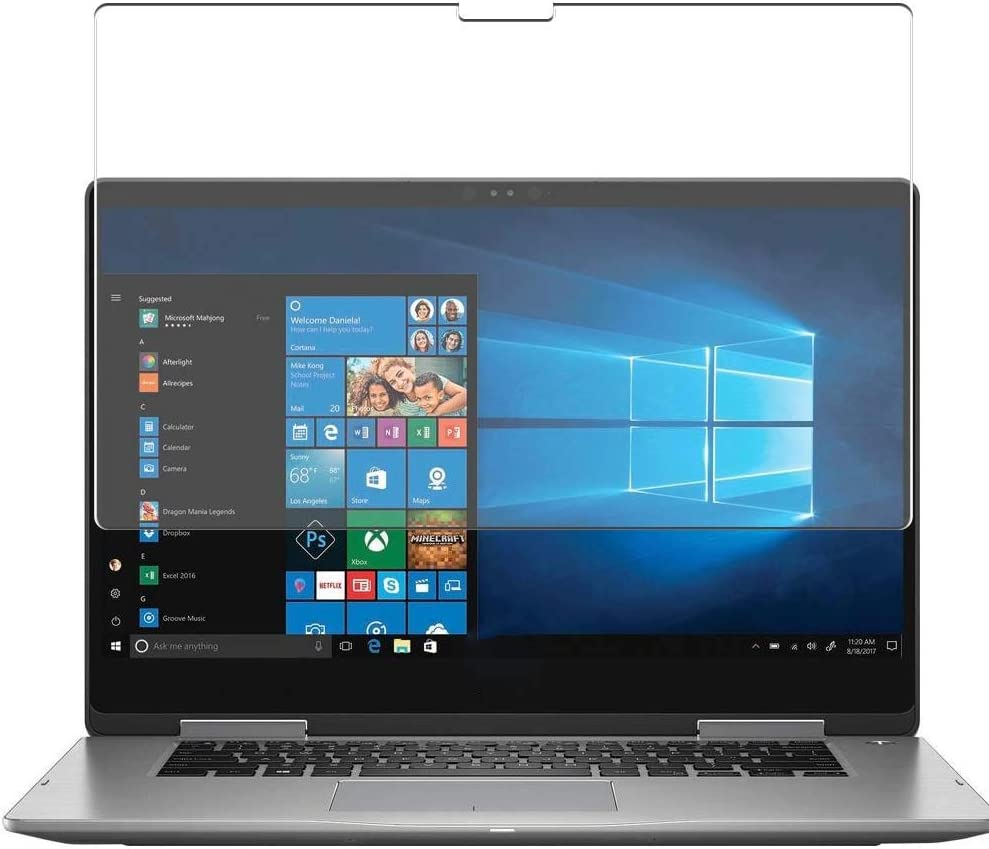 Puccy Privacy Screen Protector Film, Compatible with Dell Inspiron 15 7000 (7573) 2-in-1 15.6