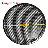 "SummerHome 2Pcs 12"" Black Audio Subwoofer Speaker Circle Cover Grill Mesh Protect Guard"