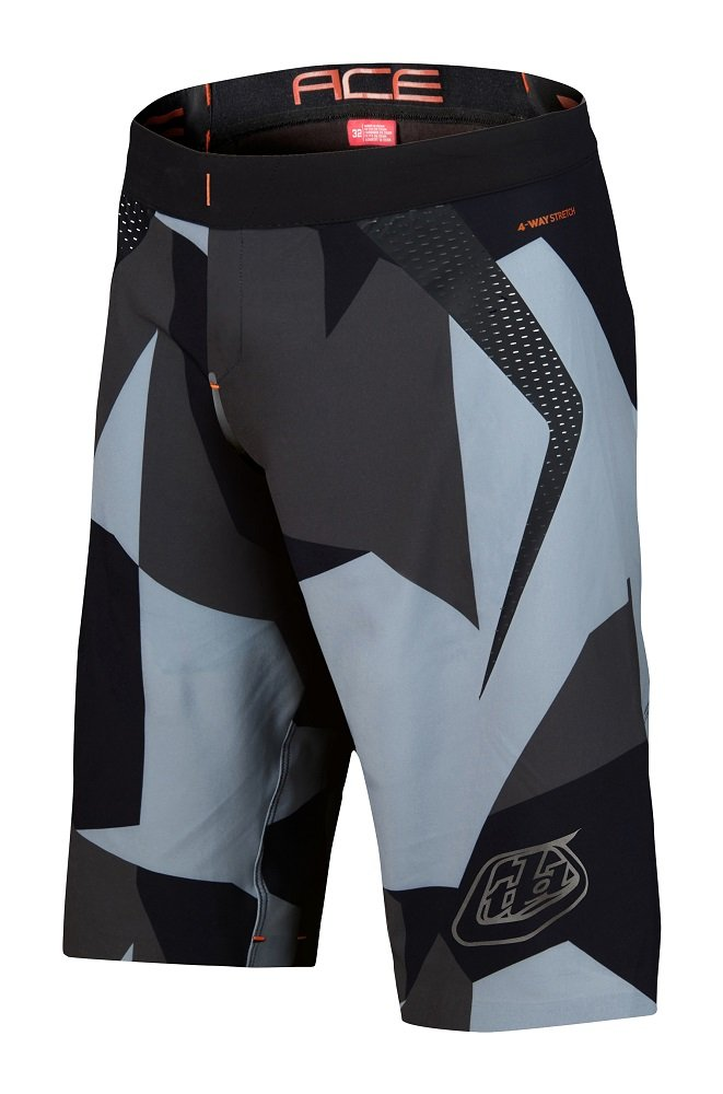 Troy Lee Designs Ace 2.0 Short W / bib – Men 's X-Small コンクリート B01NAIVU0S