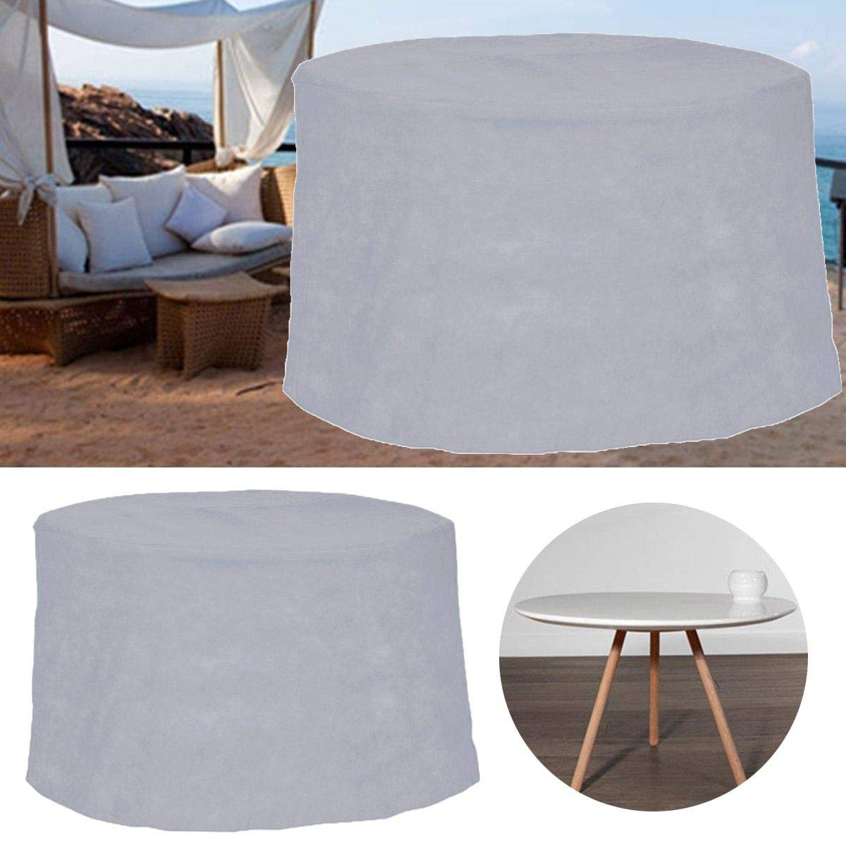 Anddoa Outdoor Garden Patio Furniture Cover Waterproof Dustproof Desk Table Chair Cover