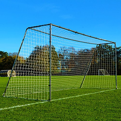 16 x 7 FORZA Steel42 Soccer Goal– [The Strongest Steel Goal Post & Net Package with Soccer Goal Target Training Sheet] (16 x 7 FORZA Steel42 Goal)