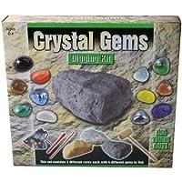 Unibos Crystal Gems Digging Mining Excavation Kit Dig Out Your Own Rock Gemstones Set