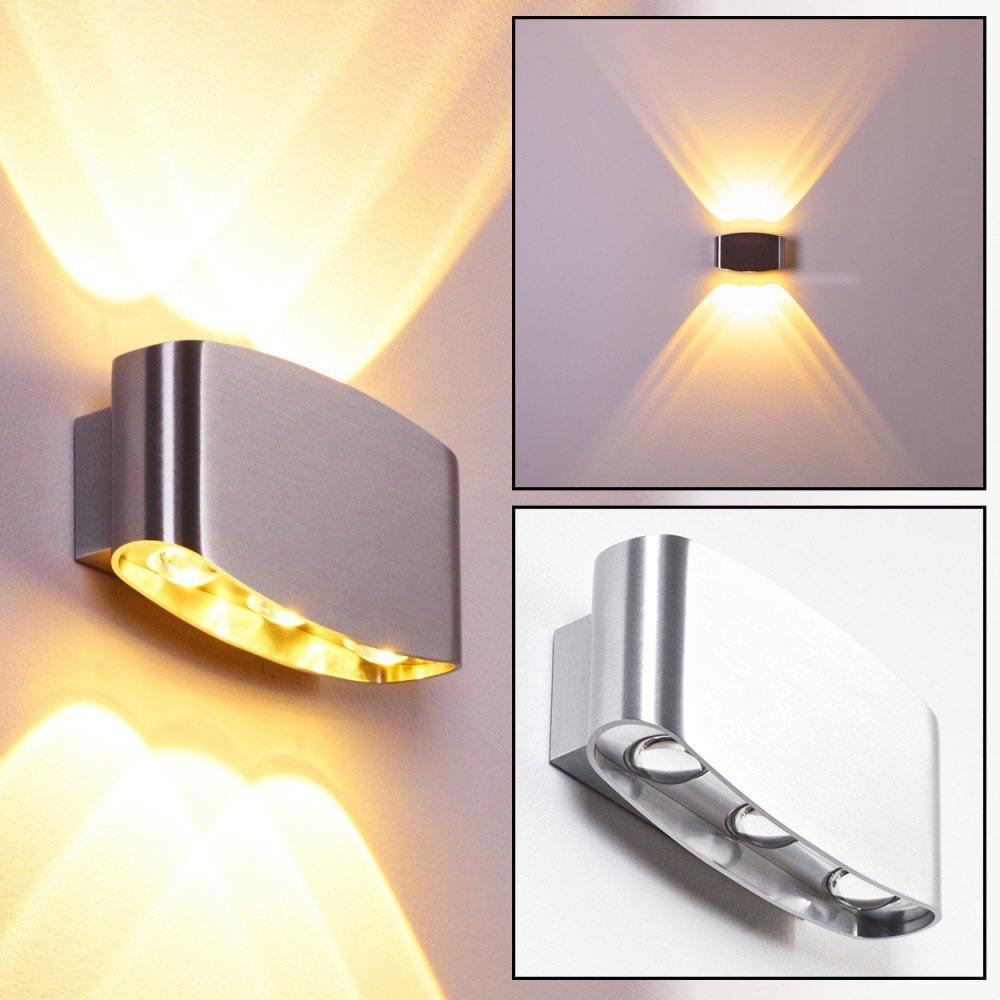 Applique LED Lampada Murale ESTERNI Alluminio MAT IP54