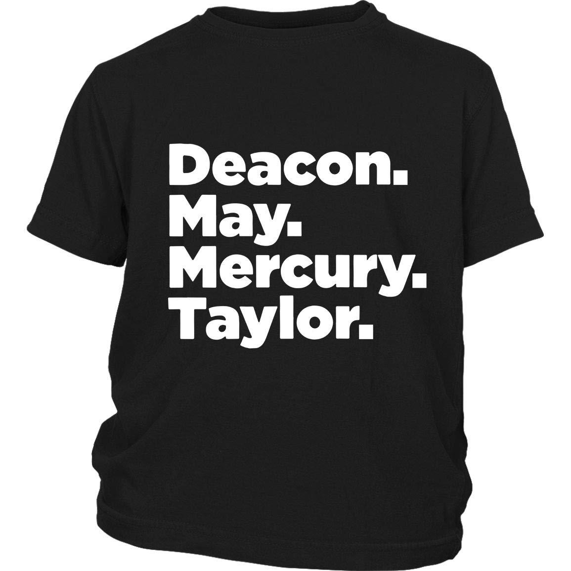 Deacon May Mercury Taylor T Shirt Queen Members T Shirt T Shirt 4758