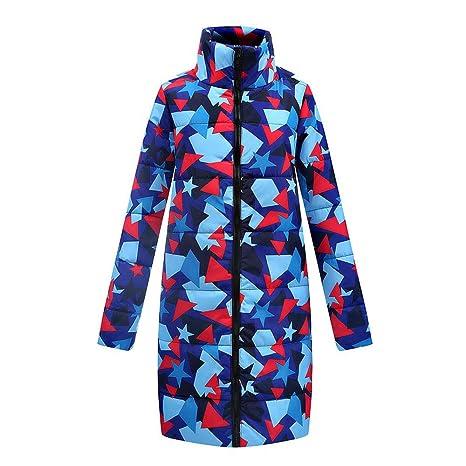 LILICAT Las Mujeres de Invierno cálido Largo Abajo algodón Damas Parka Abrigo Acolchado Chaqueta Outwear (
