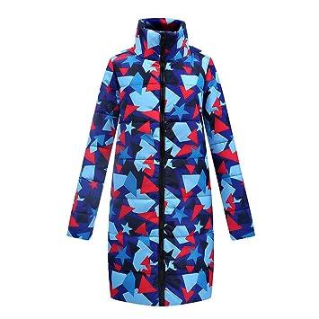 LILICAT Las Mujeres de Invierno cálido Largo Abajo algodón Damas Parka  Abrigo Acolchado Chaqueta Outwear (S M   L XL   XXL)  Amazon.es  Juguetes y  juegos b781df12f4e4