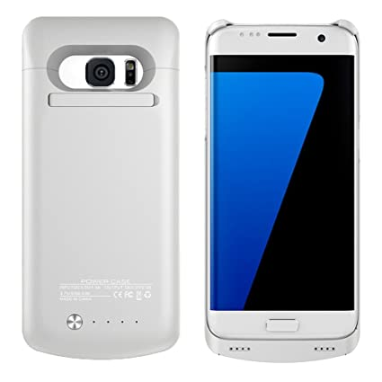 Amazon.com: Galaxy S7 Edge Cargador de batería Caso, wuloo ...