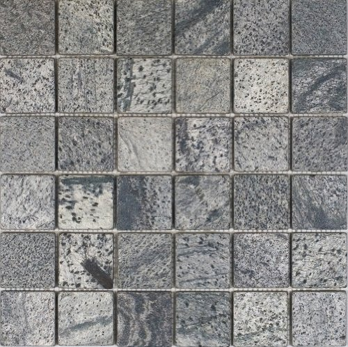 Tumbled Slate Floor Tile - Epoch Tile OG2X2 2x2 Tumbled Slate, Ostrich Grey