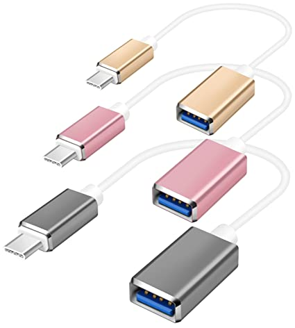 Computer & Office Usb 3.1 Type-c Male To Usb 2.0 A Female Otg Converter Adapter With Keychain A Complete Range Of Specifications
