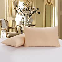 100% Cotton Pillow Case Covers with Hidden Zipper Maximum Softness and Easy Care...