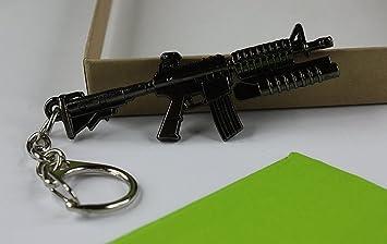 Miniatura Modelo de pistola llavero bolsa colgante Glock ...