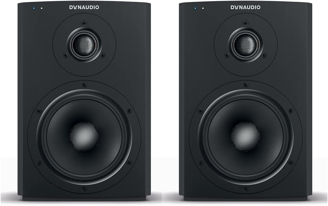 Dynaudio Xeo 2 Wireless Bookshelf Speakers – Pair Satin Black
