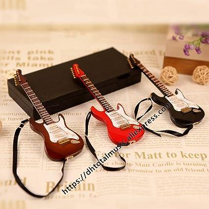 ZAMTAC Miniatura de Madera Instrumentos Musicales colección Adornos ...