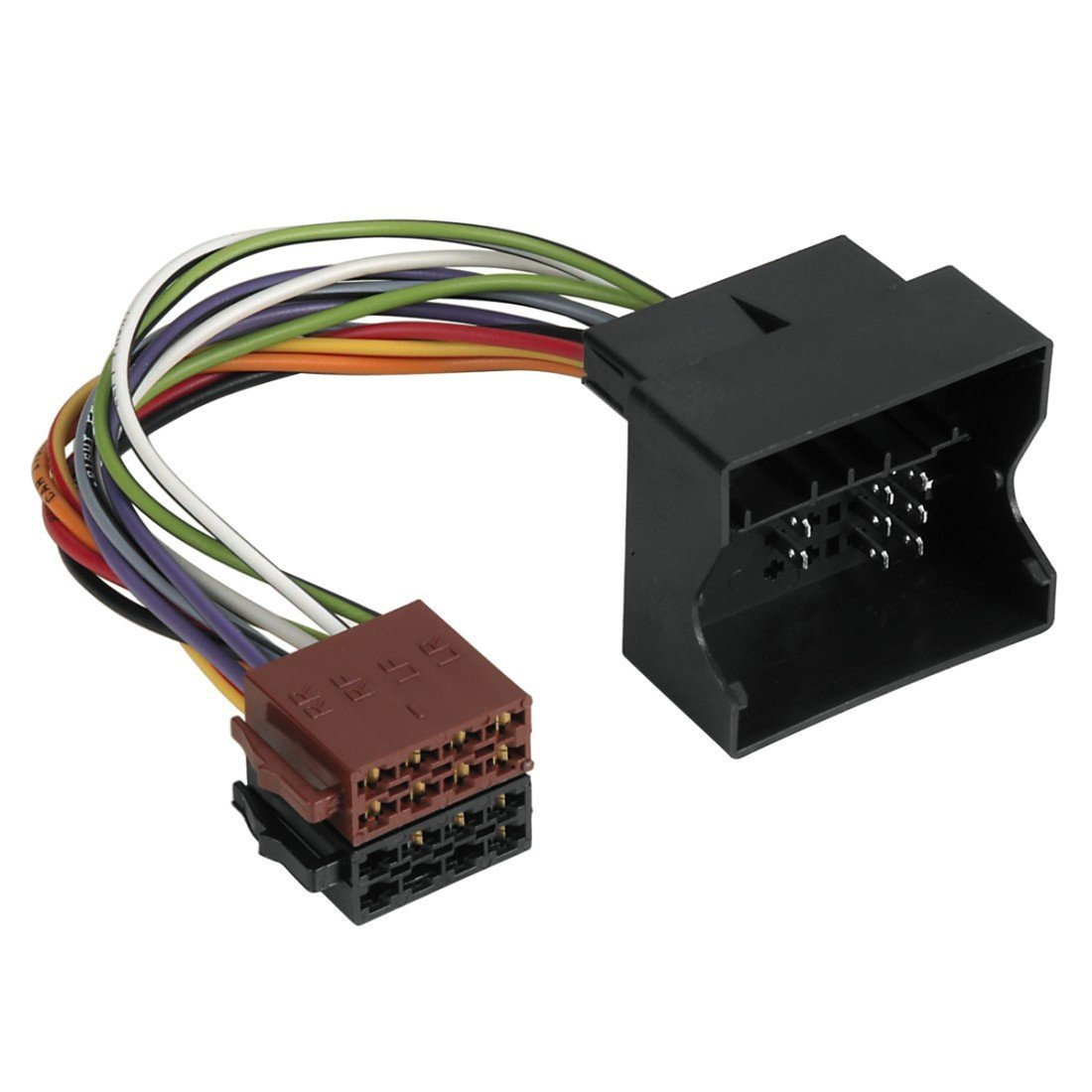 TOOGOO R 40pzs 20cm 2.54mm macho a macho Cable alambre jumper de placa de pruebas para Arduino