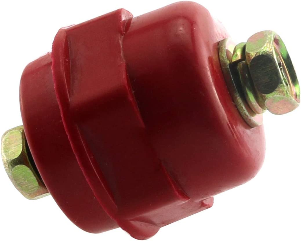 Magic/&shell Busbar Insulator 5PCS Red Resin SM-25 M6 Polyester Standoff Insulators with Screw