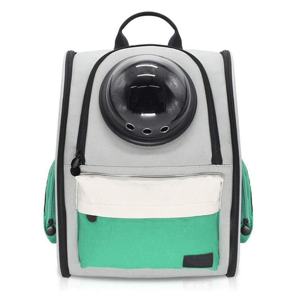 B 36CM-26CM-42CM B 36CM-26CM-42CM MTFZD Space Capsule Pet Backpack, Outdoor Travelling Removable Portable Bubble Transparent Breathable Waterproof Dog Cats Rabbits Pack (color   B, Size   36CM-26CM-42CM)