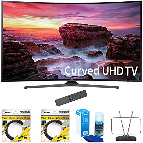 """Samsung 49"""" Curved 4K Ultra HD Smart LED TV 2017 Model  with"""