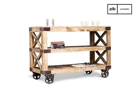 pib - carrelli da Cucina con Ruote - Mobile Console Paddington, Il ...