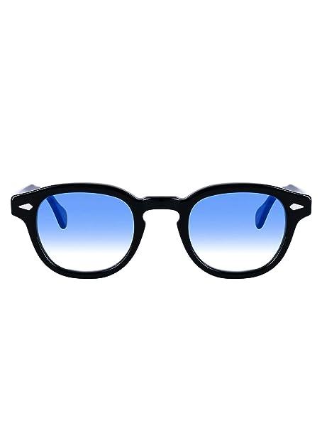 Amazon.com: Moscot LEMTOSHBLACK02BLUGIA - Gafas de sol para ...