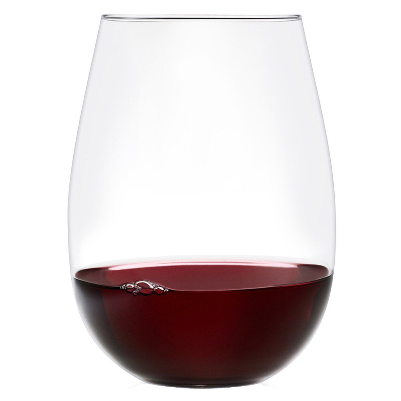 Ravenscroft Crystal 18-Ounce Stemless Wine Glass, Set of 8