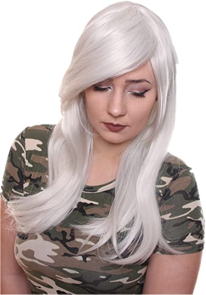 Prettyland C242 - peluca de pelo largo 60cm de calor volumen suave ...