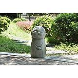Hi-Line Gift Ltd. Smiling Lucky Japanese Jizo Garden Statue
