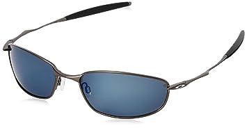 aCompatible Ersatzgläser für Oakley Whisker Sonnenbrille, Ice Blue Mirror - Polarized, S