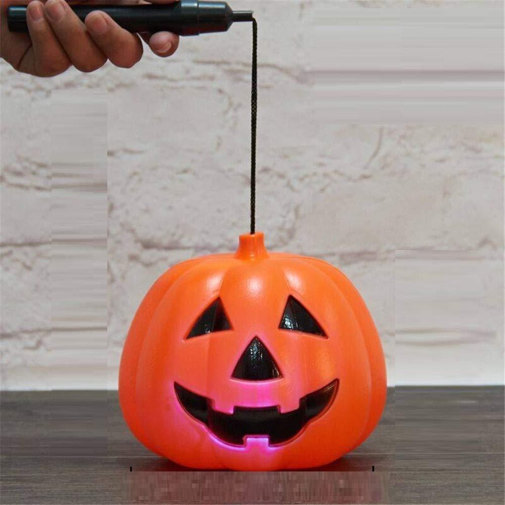 Wsjwj Nachtlichter Schlummerleuchten Halloween Dekoration Laternen