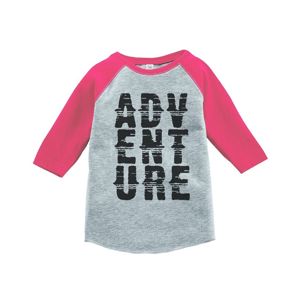 Custom Party Shop Girls Adventure Outdoors Raglan Tee