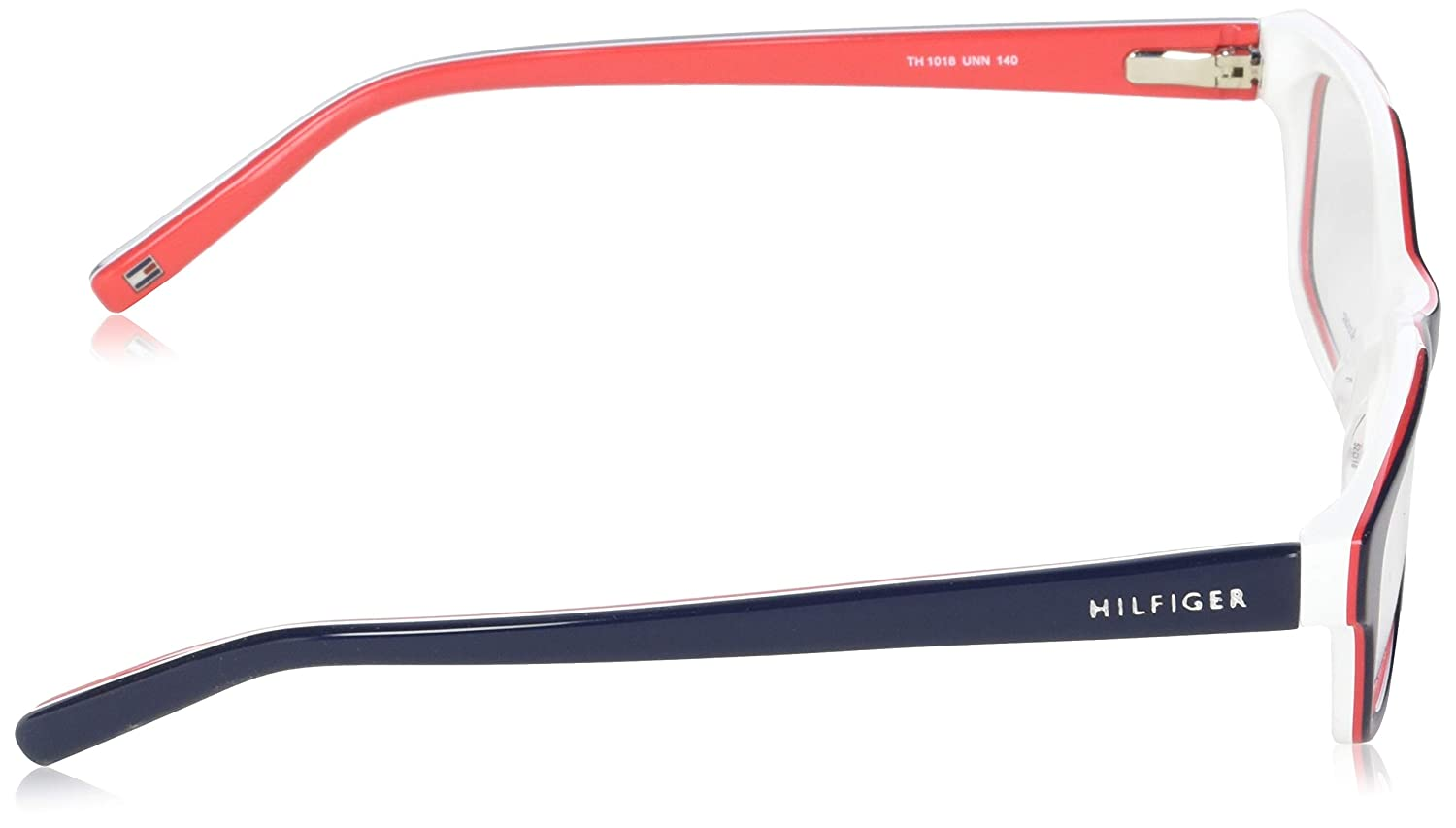 f6551f19b96 New Tommy Hilfiger Women s Eyeglasses TH 1018 UNN 5216 Blue Red 52 MM  Glasses  Amazon.ca  Clothing   Accessories