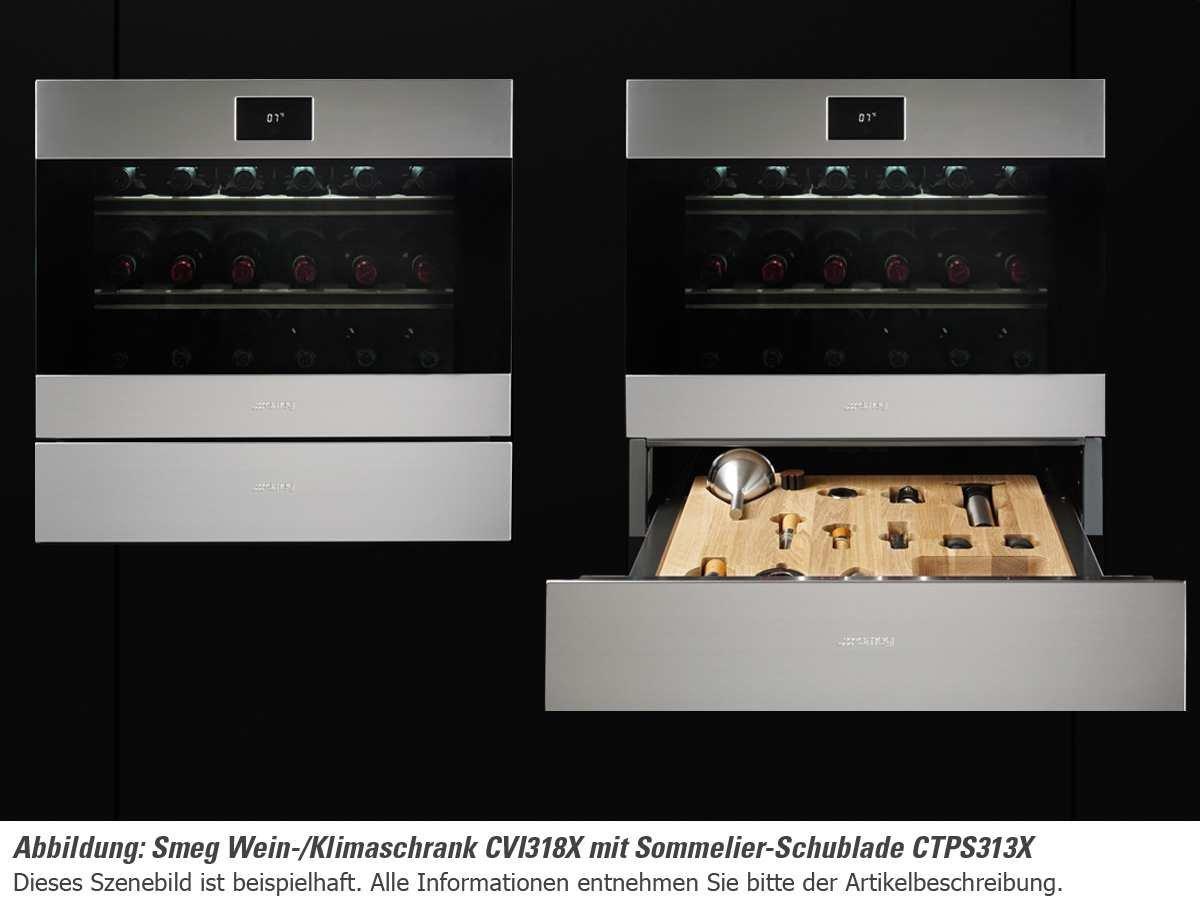 Smeg Kühlschrank Anschlag Wechseln : Smeg cvi xs einbau weinkühlschrank weinklimaschrank edelstahl