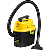 Stanley 3 Gallon Wet Dry Vacuum, 3 Peak HP Poly 2 in 1 Shop Vac with Powerful Suction, Multifunctional Shop Vacuum Car…