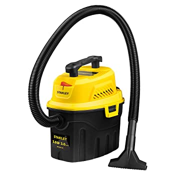 Stanley 3 Gallon 3 HP Wet Dry Vacuum Cleaner