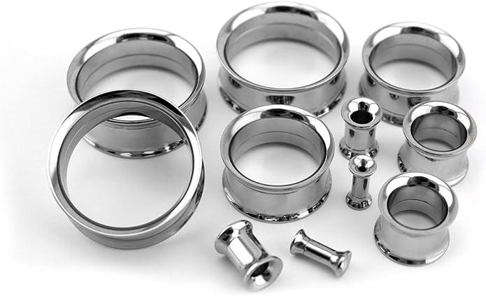 14mm Steampunk Ear Plugs  Steampunk Ear Tunnels  Double Flare Tunnels  916/'/' Gauge Nestre Pair.