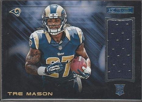 Amazon.com: 2014 Panini R&S Tre Mason Rams Rookie Jersey Football ...