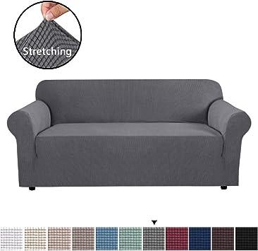 Amazon.com: H.VERSAILTEX Funda de sofá de licra jacquard y ...