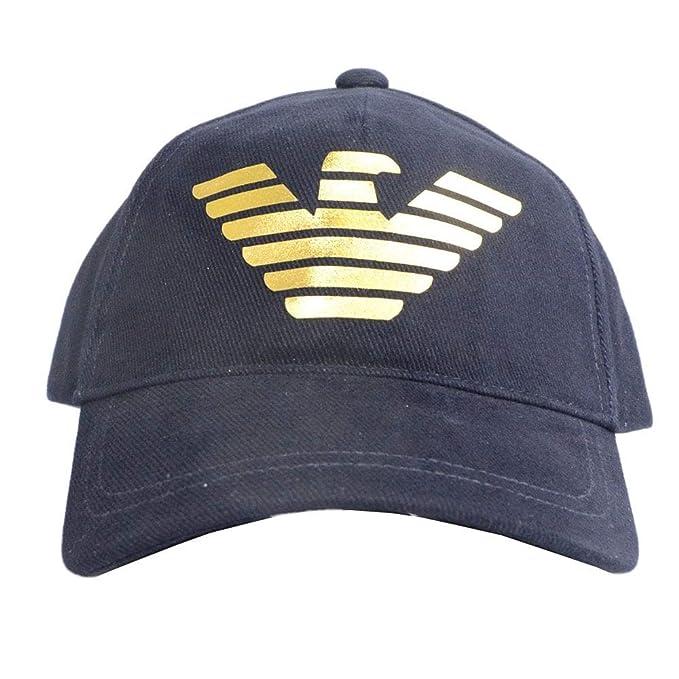 presa di fabbrica spedizioni mondiali gratuite tecnologia avanzata Emporio Armani - Cappellino da Baseball - Uomo Navy Blue ...