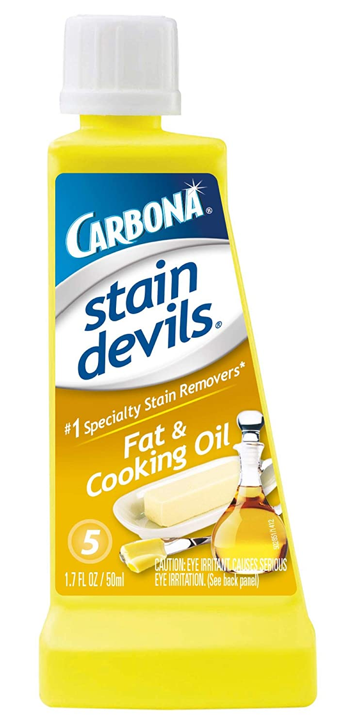 Carbona Stain Devils #5, Fat & Cooking Oil, 1.7 Fl Oz
