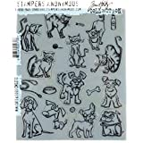 Stampers Anonymous Tim Holtz Cling Mount