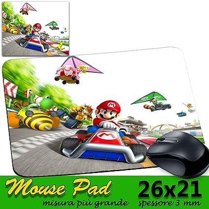 alfombrilla ratón Pad Gaming personalizable grande 26 x 21 cm Games Mario Kart 7