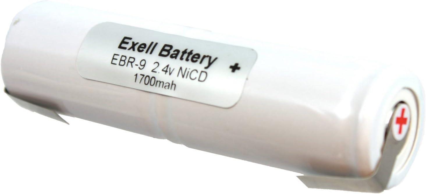 vhbw NiMH bater/ía 1500mAh 12V para herramienta el/éctrica powertools tools como Gesipa 70291510061
