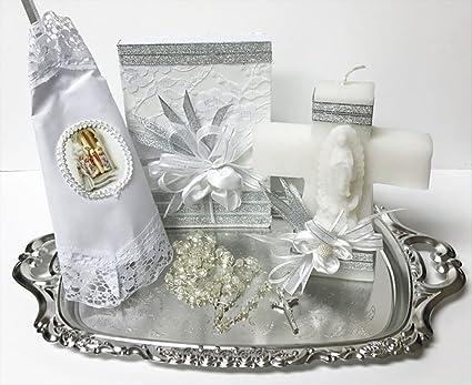 Amazon.com: Set de regalo completo con vela cruzada y ...