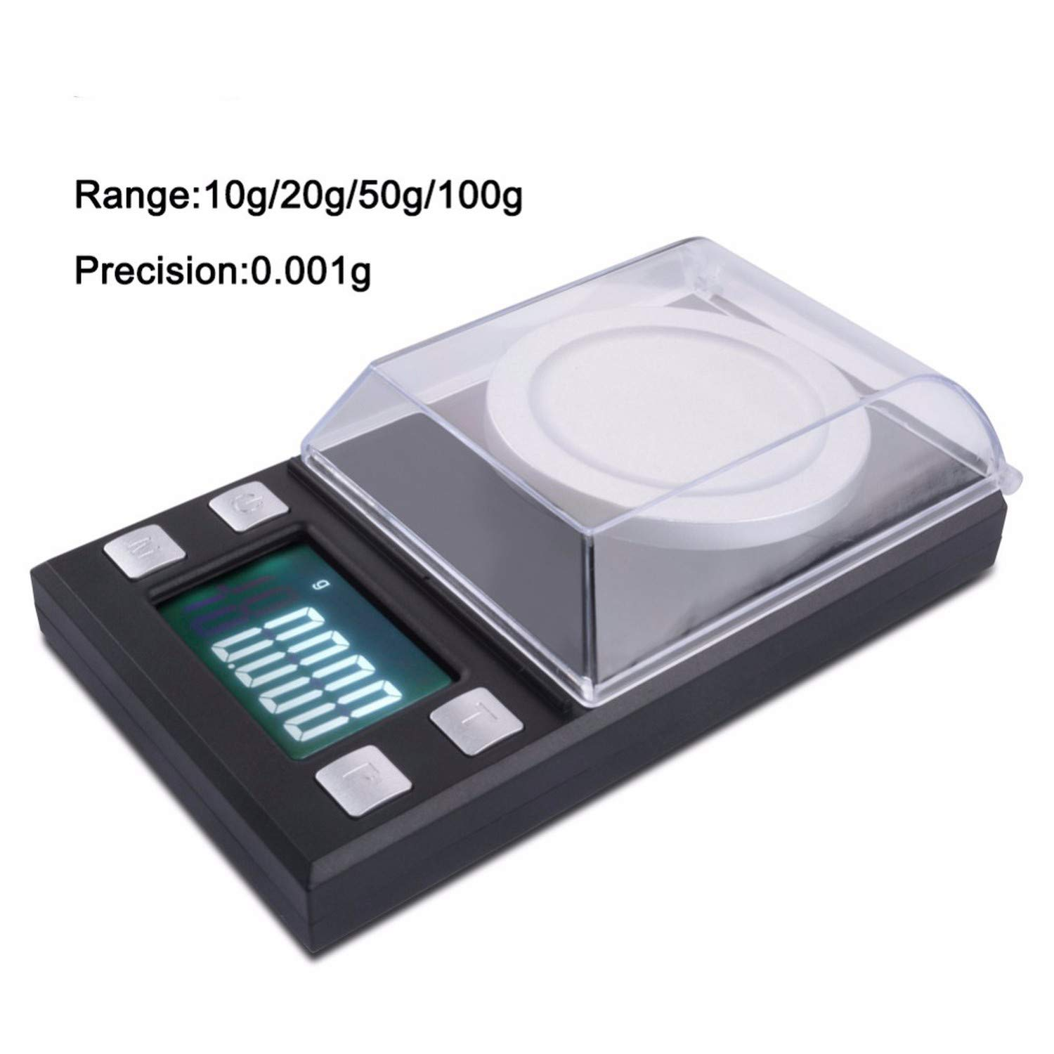 Amazon com: 100G/50G/20G/10G Electronic Scales 0 001 LCD