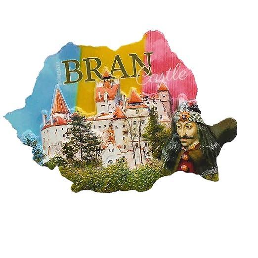 MUYU Magnet BRAN Castle Brasov - Imán 3D para Nevera, diseño de ...