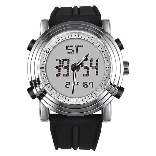 c59c78f35399 Reloj de Pulsera Deportivo analógico y Digital para Hombre