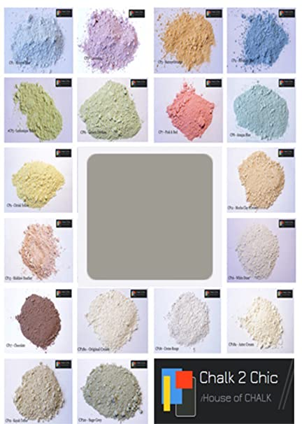 cp14 chalk 2 chic 11oz 312g solway grey chalk powder paint makes